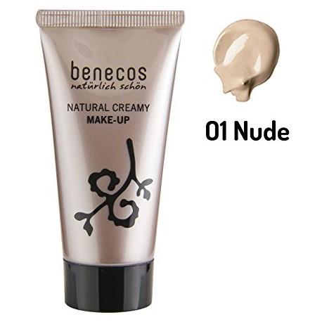 Benecos  Bio Fond de teint Crème naturel Nude