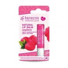 Benecos Bio Baume à lèvre naturel - Framboise