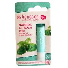 Benecos Bio Baume à lèvre naturel - Menthe